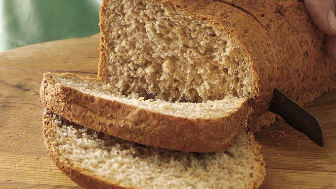 Bread Machine Multigrain Loaf