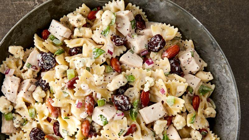 Turkey, Cherry and Almond Pasta Salad