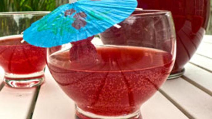 Raspberry Beer Hard Lemonade