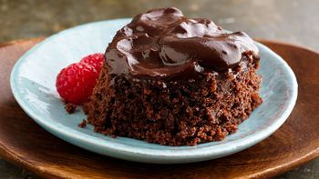 Vegan Slow-Cooker Fudgy Pudding Cake