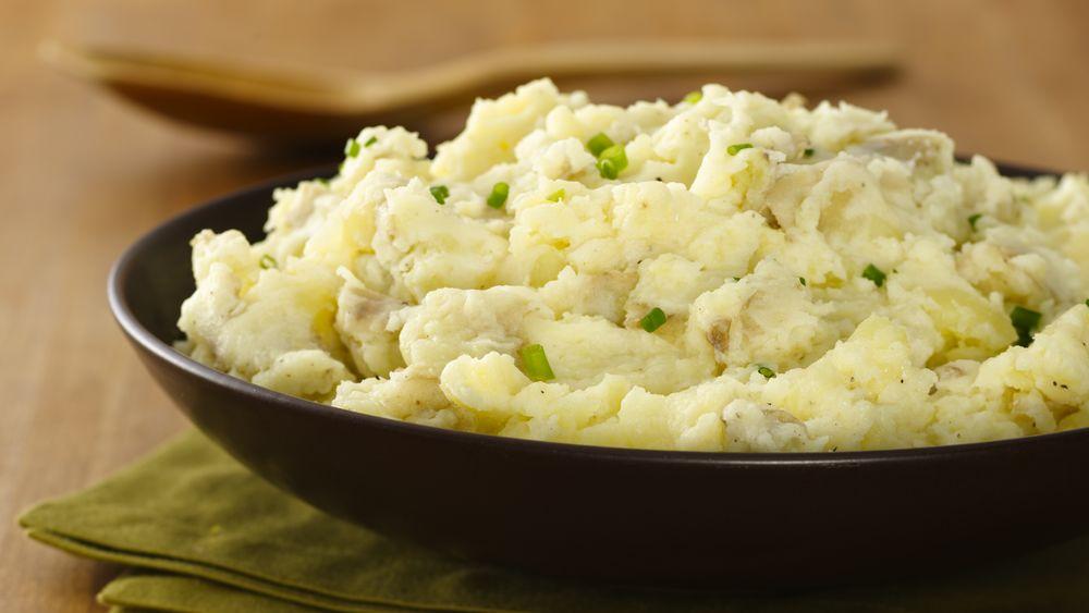 Golden Mashed Potatoes