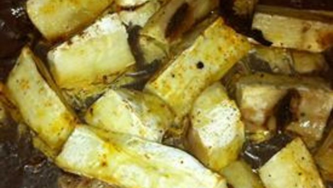 Baked Yucca Fries