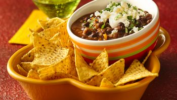 Black Bean-Chorizo Dip