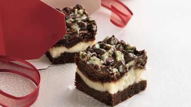 Peppermint-Chocolate Brownies