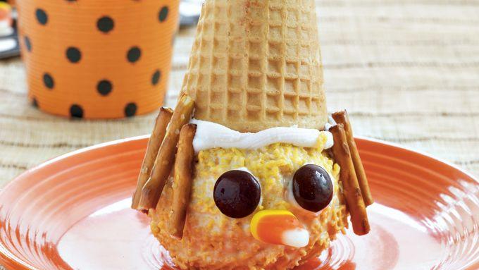 Scarecrow Ice Cream Cones