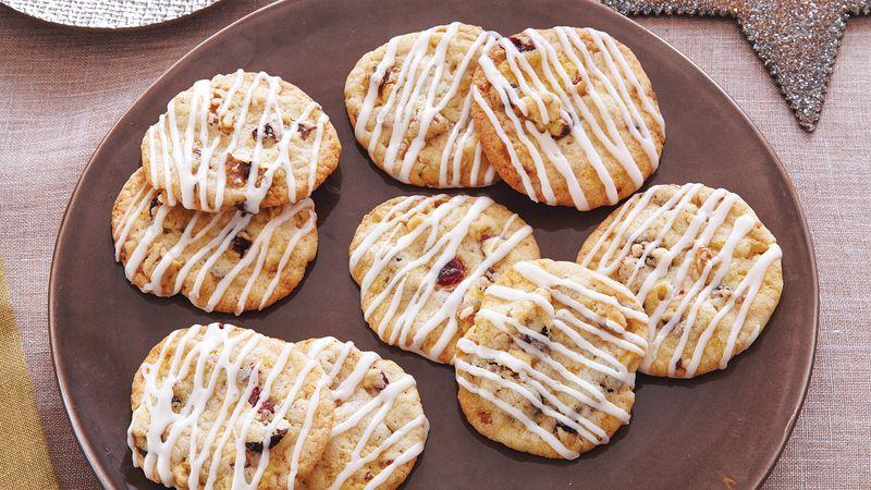 Cranberry Orange Walnut Cookies