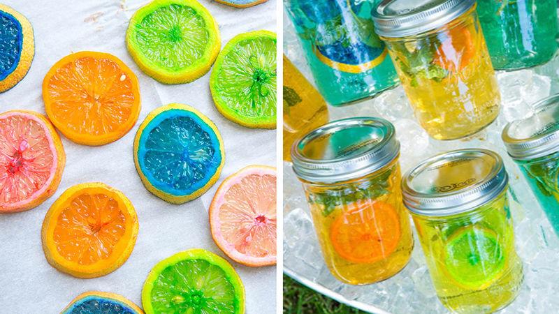 Rainbow Lemonade Sangria