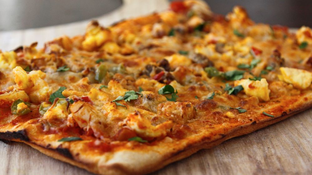 Scrambles Breakfast Pizza