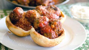 Slow-Cooker Pizza Meatballs