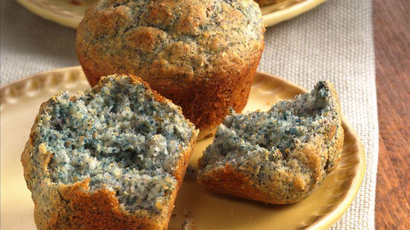 Blue Cornmeal Muffins