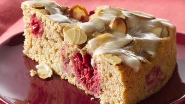 Raspberry-Almond Coffee Cake