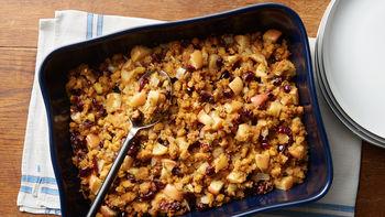 Cranberry-Cornbread Stuffing