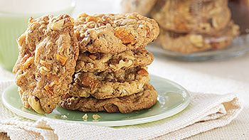 Pear-Walnut-Oatmeal Cookies