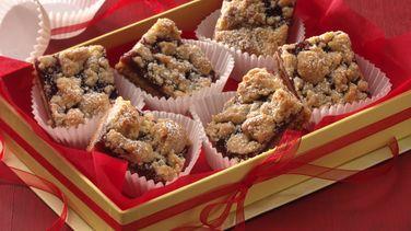 Barras Linzer (Cantidad para intercambio de galletas)