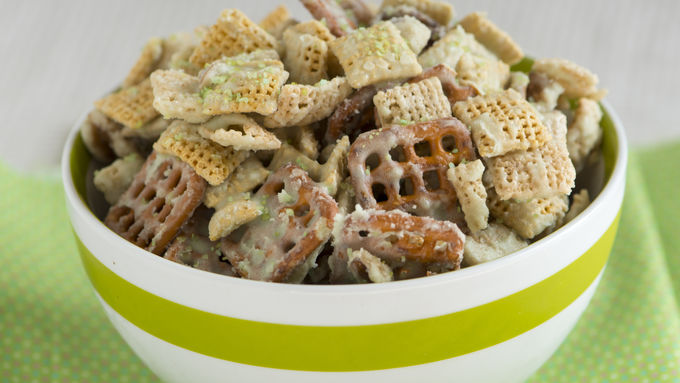 Lime Time Chex Mix