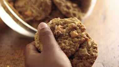 Butterscotch-Pecan-Oatmeal Cookies