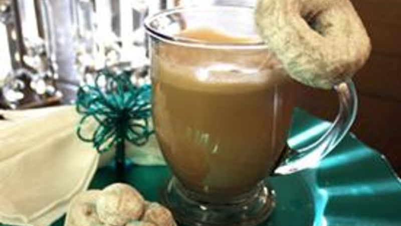 Powdered Donut Hot Cocoa