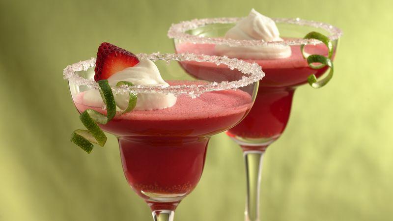 Strawberry Margarita Cups