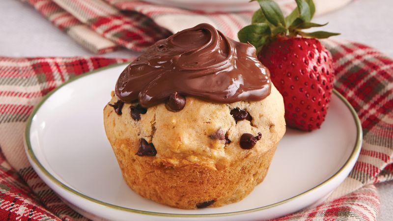 Chocolate-Hazelnut-Banana Muffins