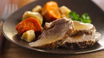 Slow-Cooker Porketta Pot Roast