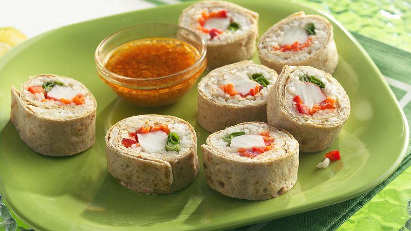 Seafood Sushi Wraps