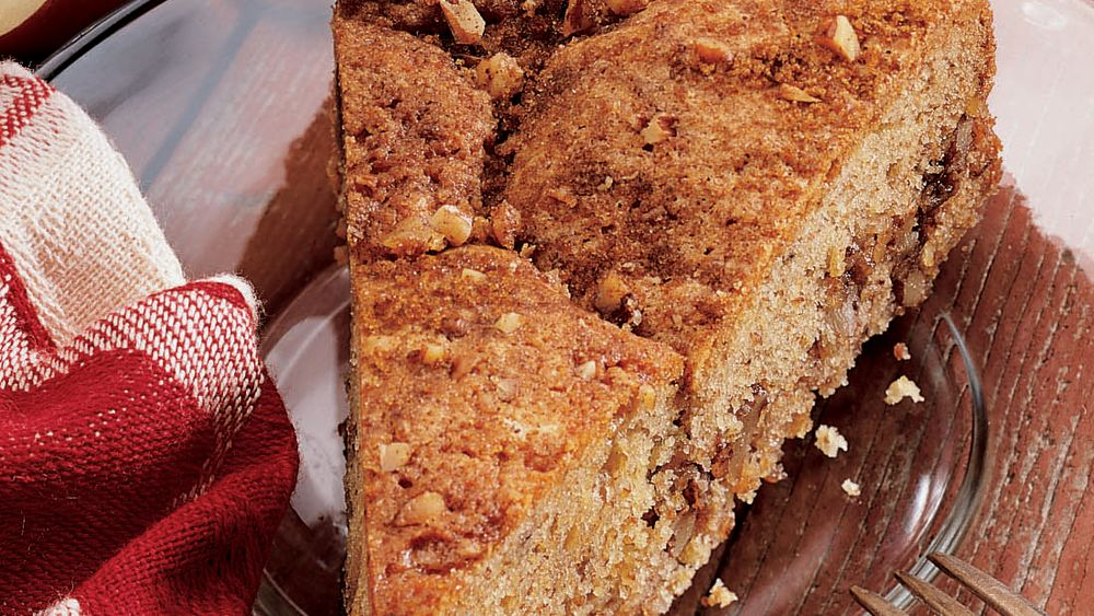 Apple Crunch Coffee Cake