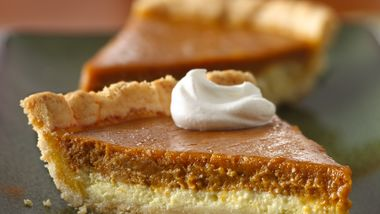 Gluten-Free Cream Cheese Pumpkin Pie
