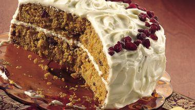 Holiday Sweet Potato Cake
