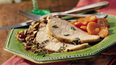 Italian Roast Pork with Rosemary
