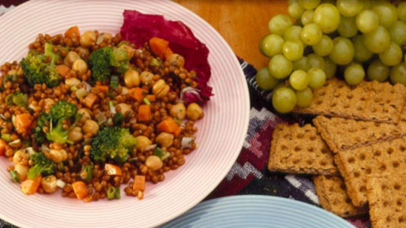 Heart Healthy Cookbook Wheat Berry Salad