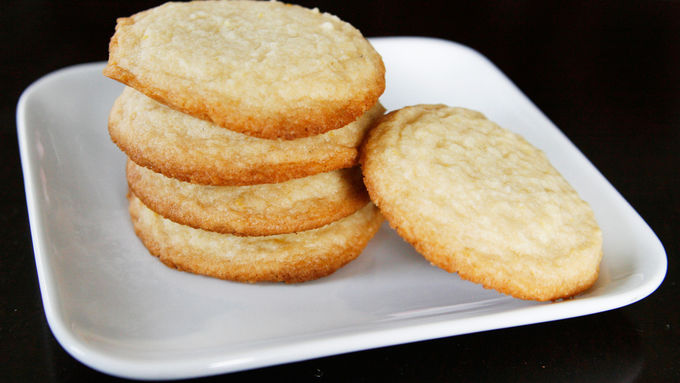 Lemon-Lavender Sugar Cookies