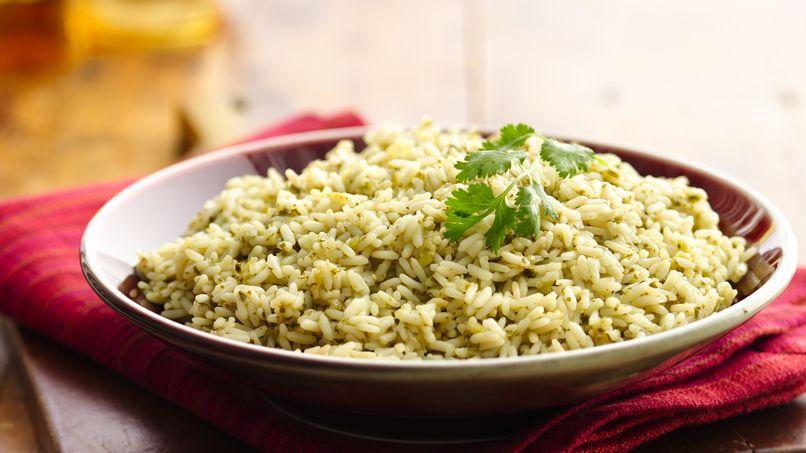 Cilantro-Parsley Rice