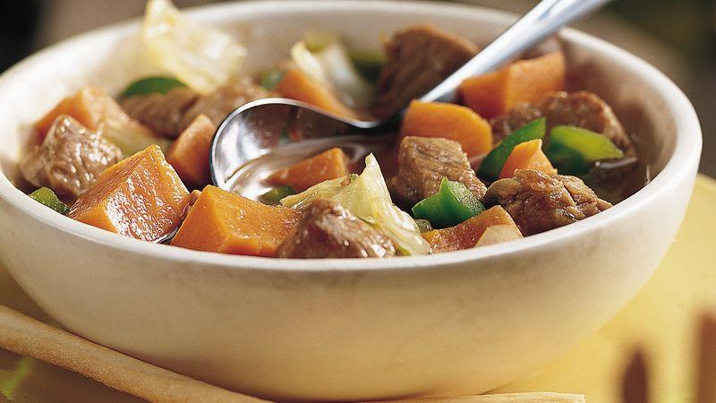 Zesty Autumn Pork Stew