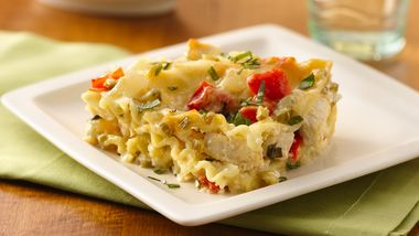 Make-Ahead White Chicken Lasagna
