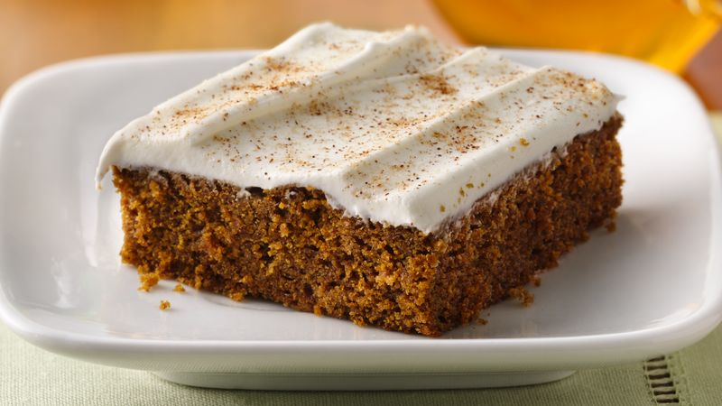 Frosted Cinnamon-Ginger Bars