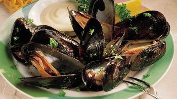 Mussels with Mustard Sauce