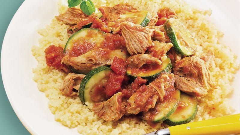 Slow-Cooker Italian Turkey Dinner