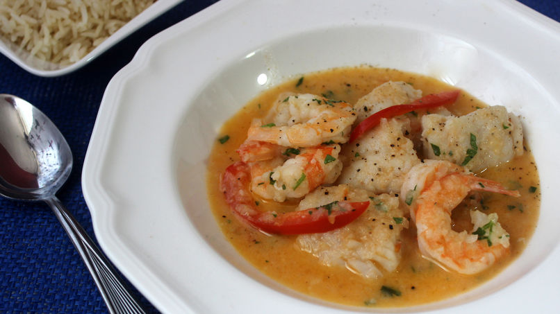 Fish and Shrimp Moqueca
