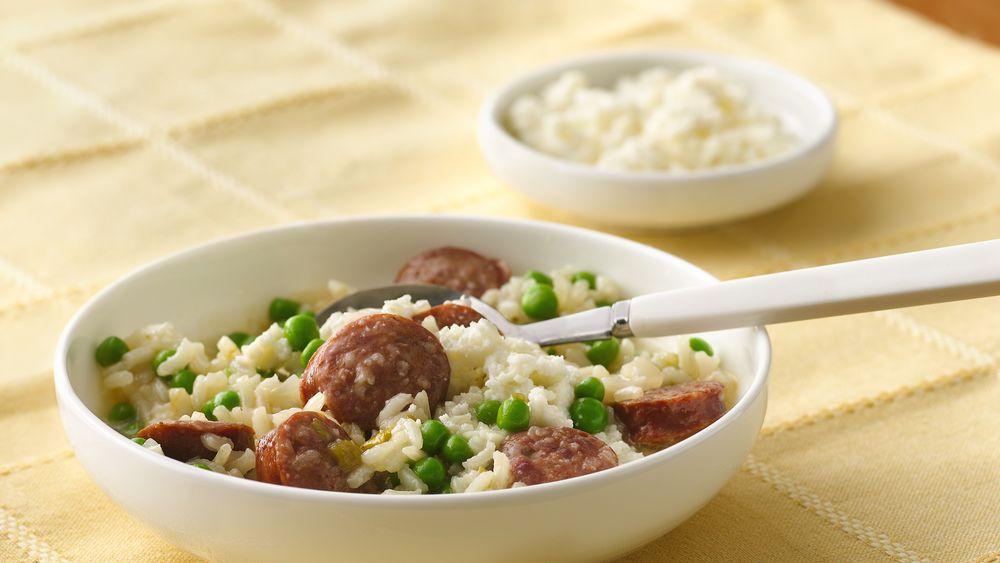 Chorizo and Rice Stew
