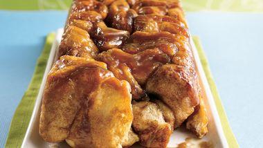 Pull-Apart Caramel Loaf
