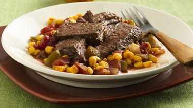 Cajun Pot Roast with Maque Choux (Cooking for Two)