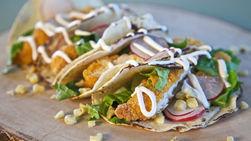Tacos de Pollo Frito