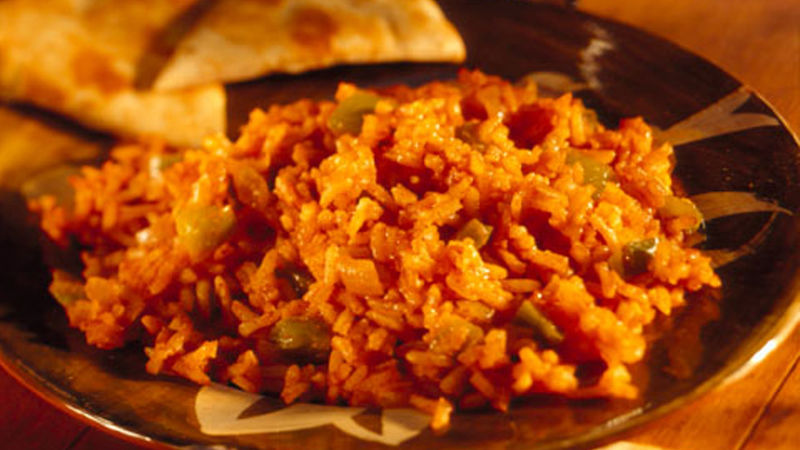 Basic Spanish Rice recipe from Betty Crocker