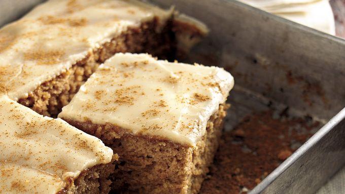Butter Rum-Glazed Applesauce Cake