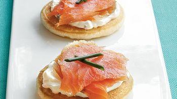 Smoked Salmon Blini