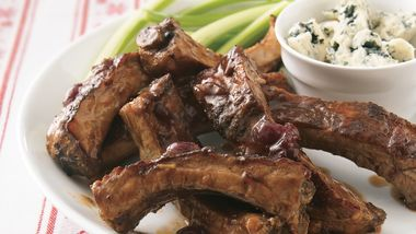 Slow-Cooker Cranberry Ribs