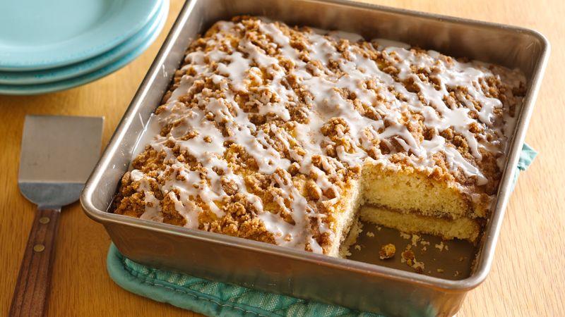 Gluten-Free Cinnamon Streusel Coffee Cake