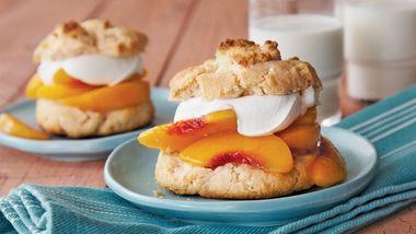 Peach-Ginger Shortcakes