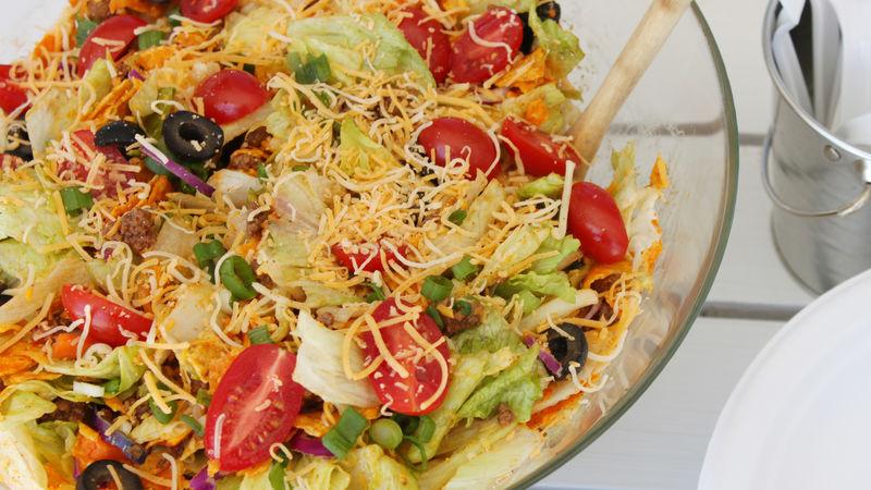 Crunchy Potluck Taco Salad