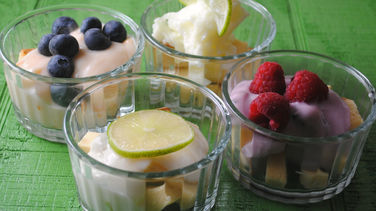 Mini Fruit Trifles
